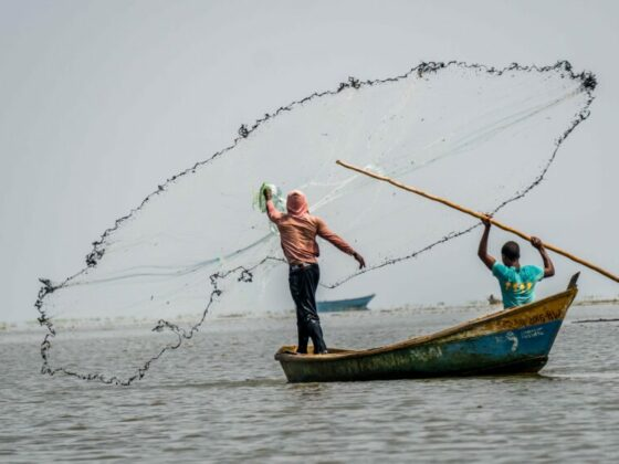 Semliki vissers